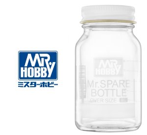 MR COLOR SPARE BOTTLE 엑스트라 라지 80ML BOTOL 공병